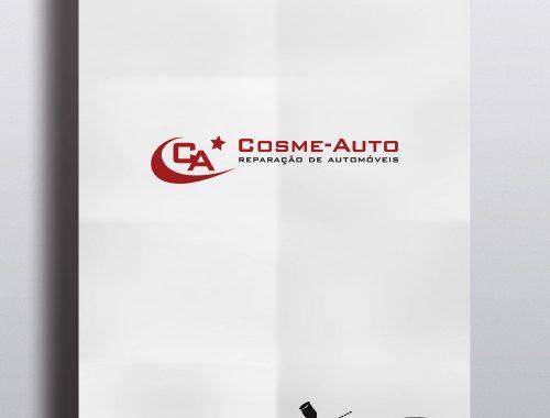 Logótipo Cosme-Auto Reparação Auto