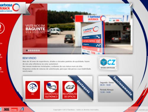 Fbarbosa Website versão Flash 2012