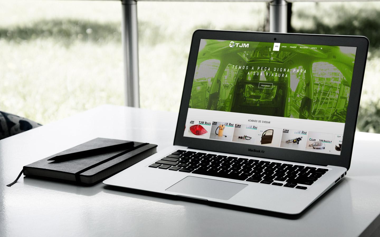 TJM Recicla Portugal - peças automóvel , responsivo Macbook