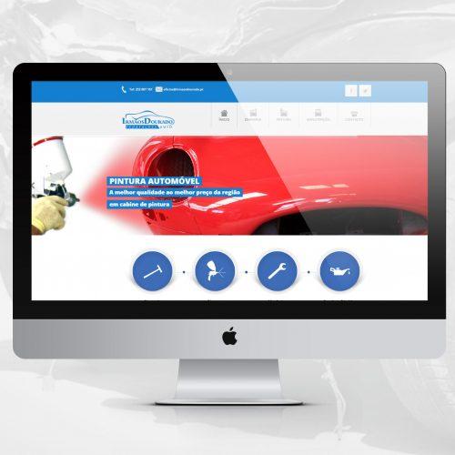 Website Irmãos Dourado - reparações auto , MacBook