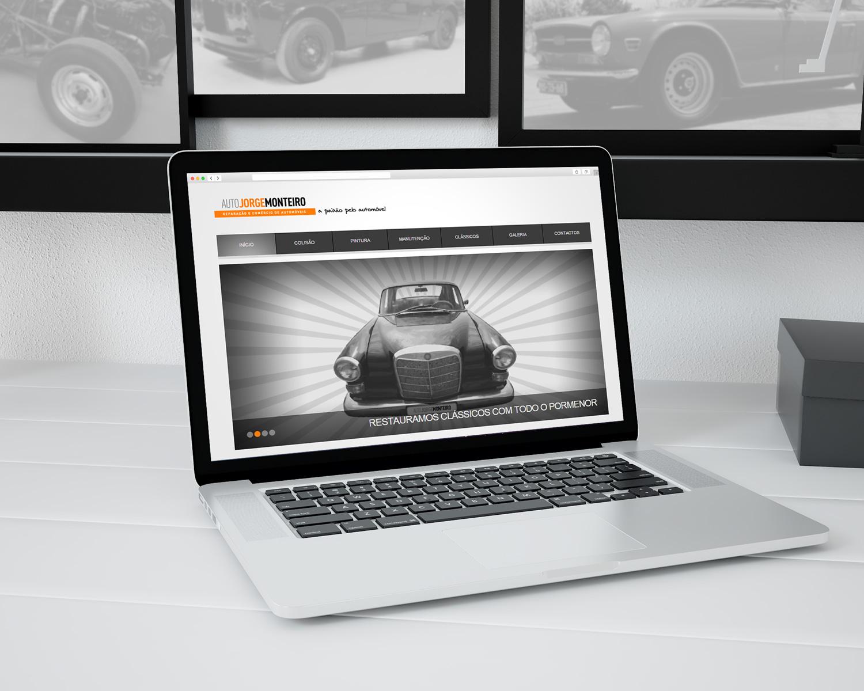 Website Auto Jorge Monteiro Oficina