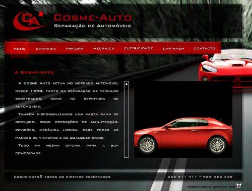 Cosme-Auto Reparação Auto Website 2010 Flash
