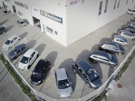Foto Aérea de Stand de automóveis Aricar