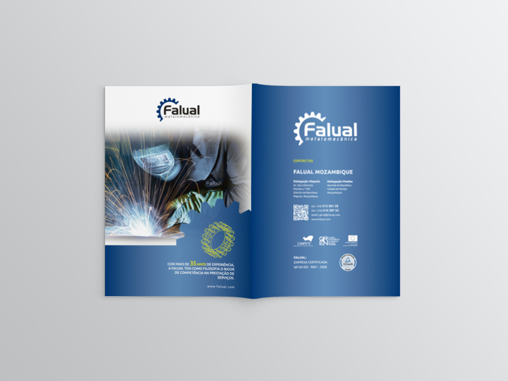 Brochura Falual Metalomecânica