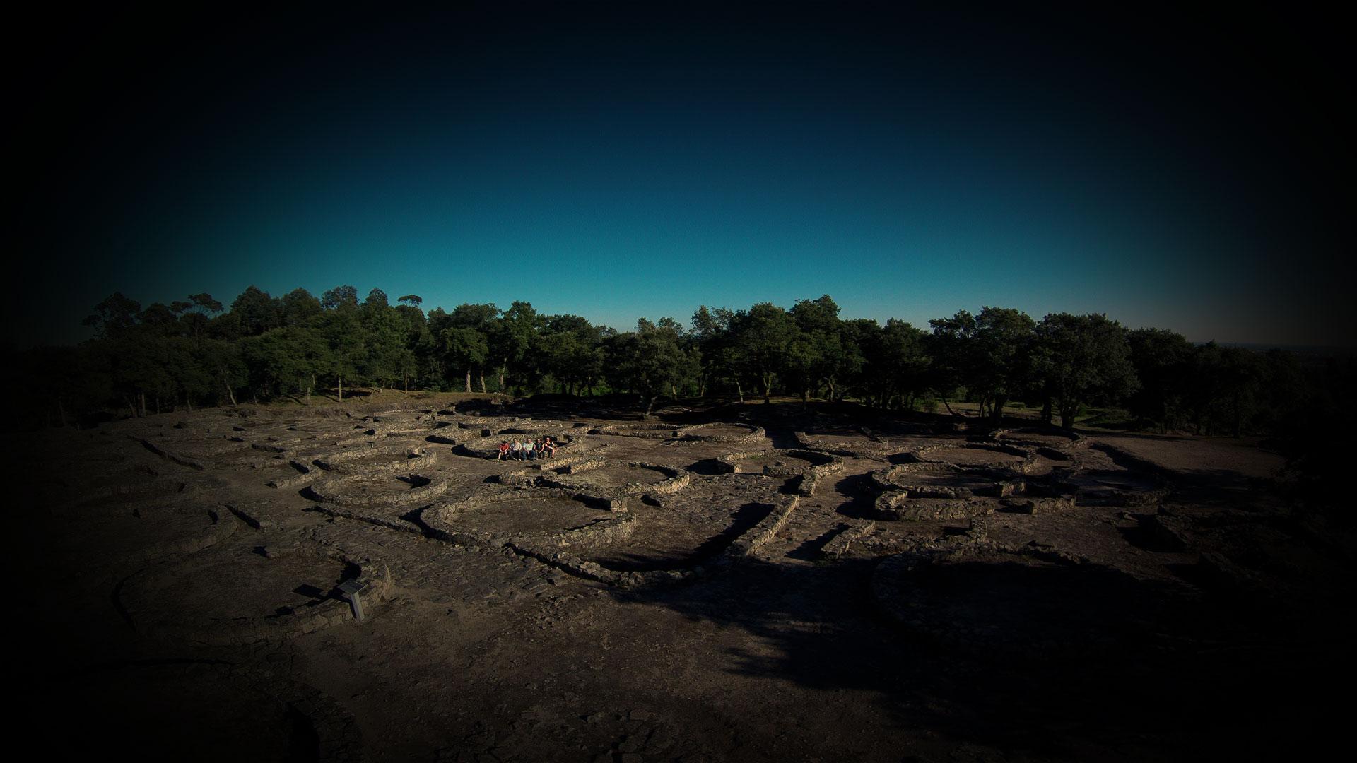 Foto Aérea de ruínas