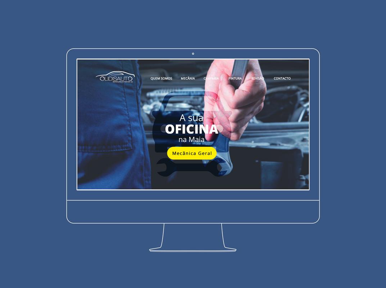 Olidisauto Oficina website