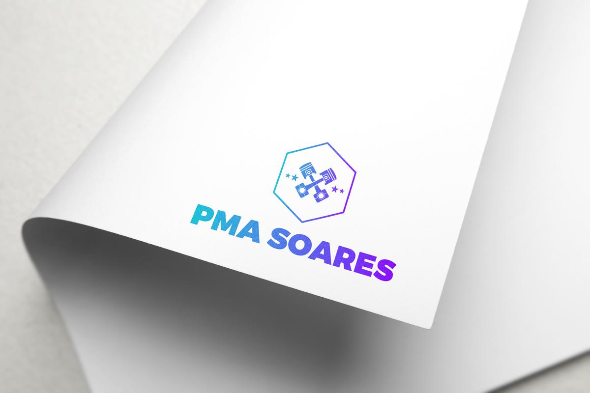 PMA Soares logotipo no papel