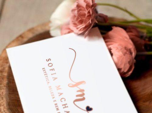 Sofia Machado cartão de visita