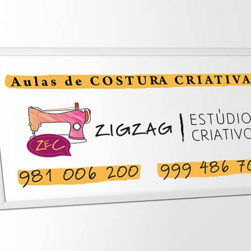 design placa ZEC costura criativa